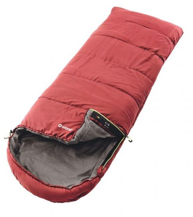 Outwell Sleeping bag - Campion Lux Red, Camping sleeping bag - Grasshopper Leisure